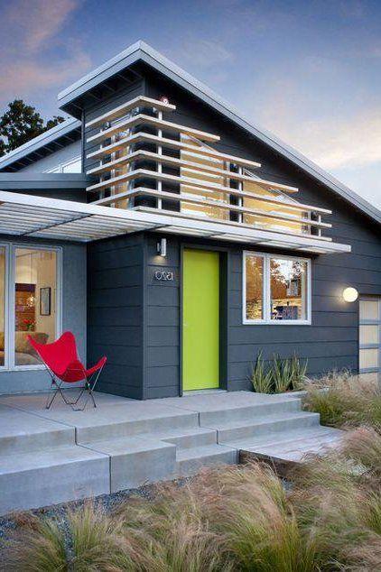 Colores Para Exteriores Y Fachadas 2018 Y 2017 40 Fotos De Combinaciones Colores Hermosos Casa