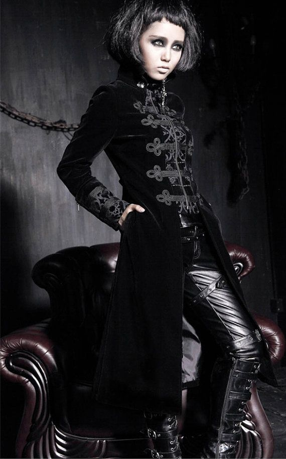 Gothic Kleding.Angelau Dark Mood Steampunk Fashion Gothic Outfits En Gothic Coat