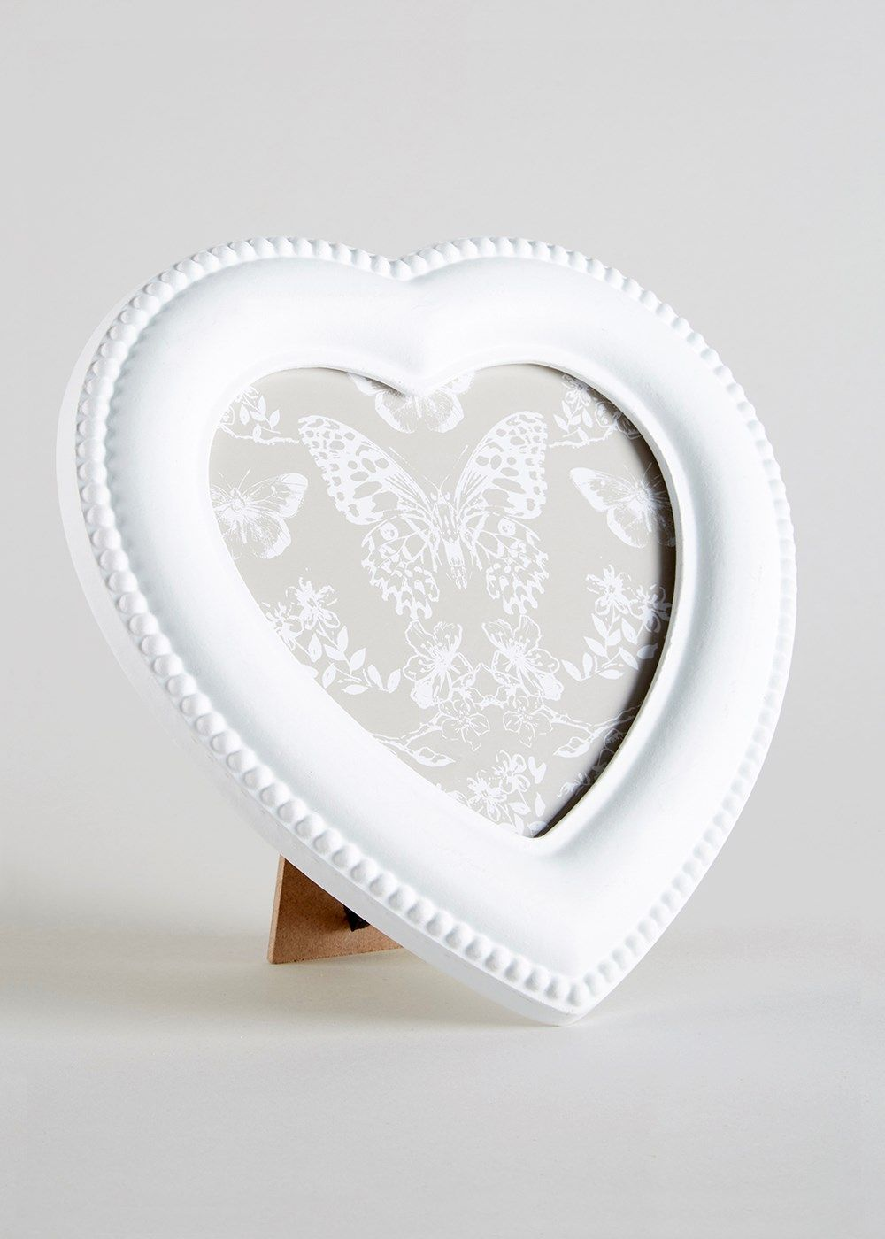 Heart Shaped Frame (19cm x 19cm) - Matalan | Props | Pinterest ...