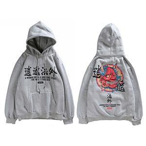 Novel Ideas Hip Hop Graffiti Hoodies Mens 2018 Autumn Casual Pullover Sweats Hoodie Male Fashion Skateboards Sweatshirts Us Size Men's Clothing