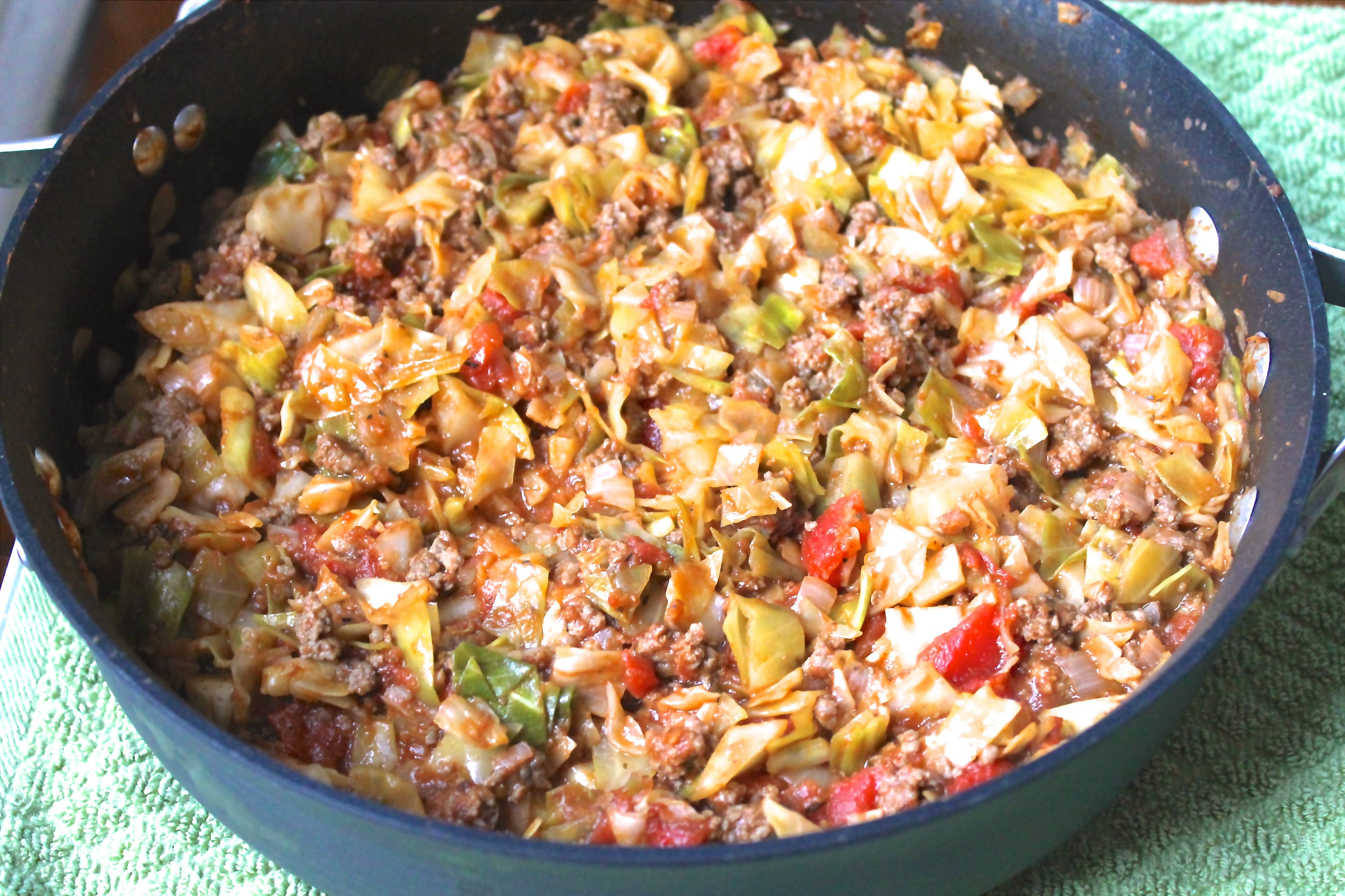 Amish One Pan Ground Beef And Cabbage Skillet Recipe Ground Beef And Cabbage Cabbage Recipes Cabbage Recipes Healthy