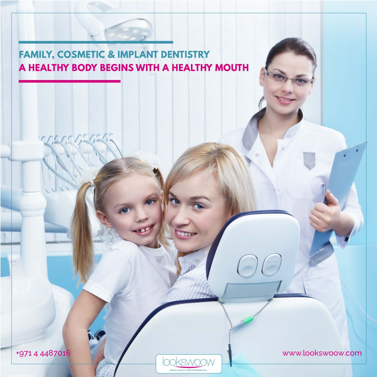 A dentist that the whole family! Lookswoow
