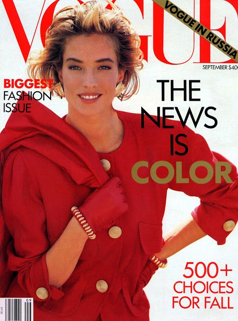 Tatjana Patitz Vogue US 1990