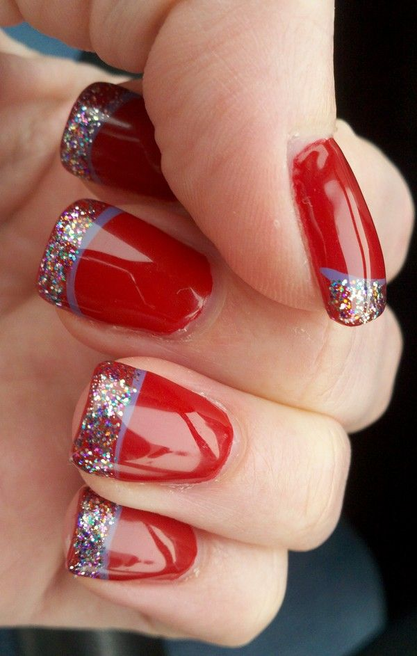 Christmas Nail Art Design Ideas Nails Pinterest Christmas Nail