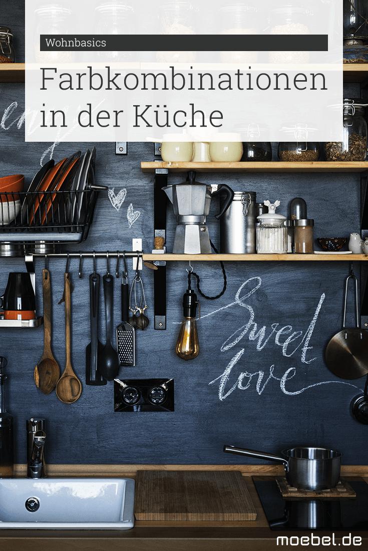 Ideen für Farbkombinationen in der Küche | Jede Farbe hat ihren eigenen Effekt und lässt die Küche anders aussehen. Wir zeigen schöne Farbkombinationen und ihre Wirkung auf die Küche.
