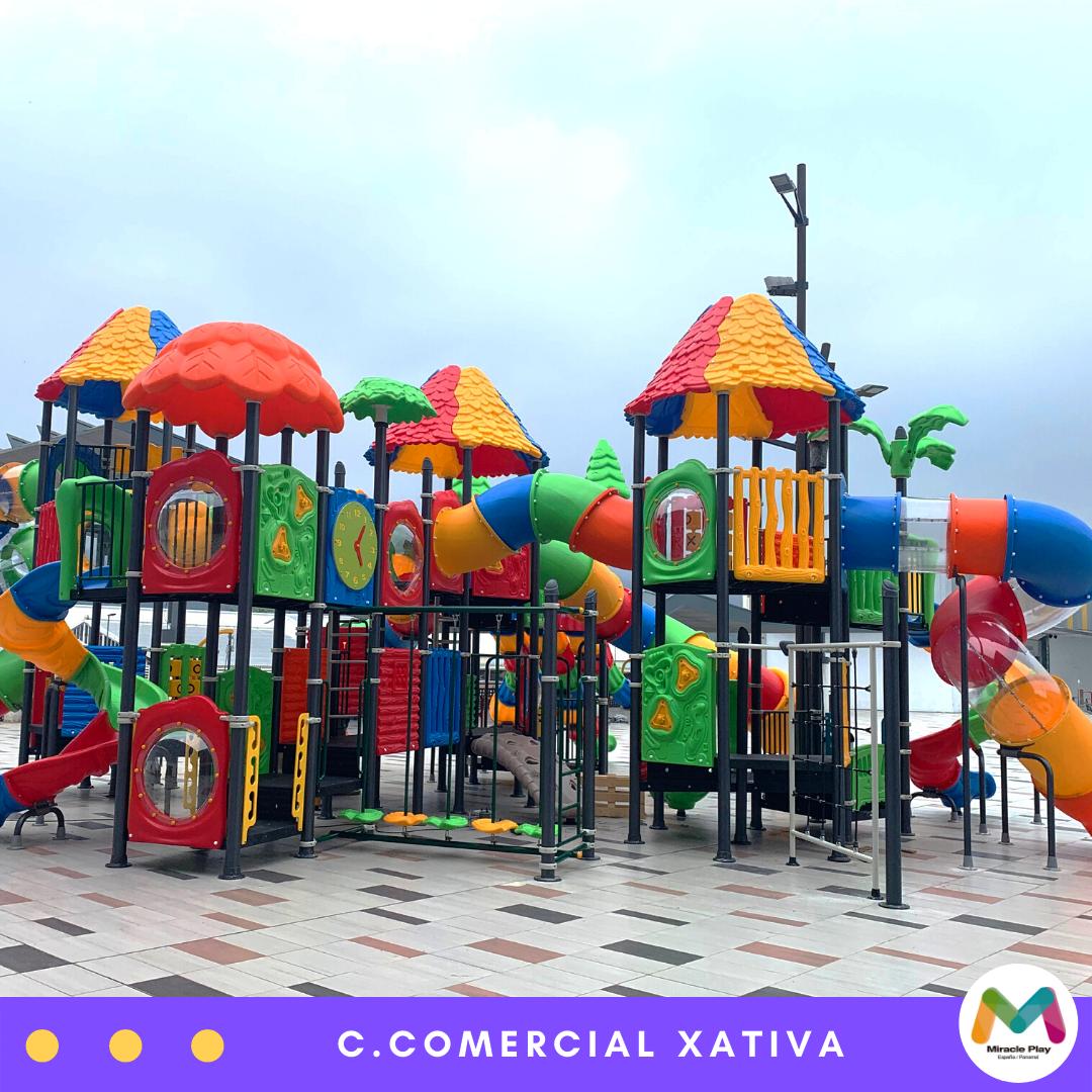 Instalación C Comercial Xativa Parques Infantiles Parques Piscinas Infantiles