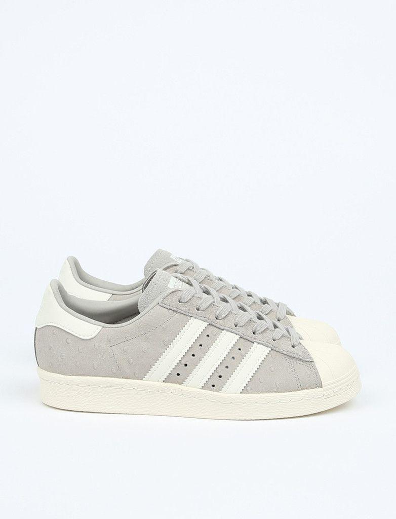 adidas Originals Superstar 80er Jahre klare Granite / Off White / Cear