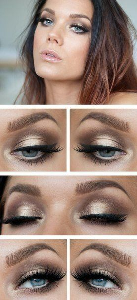Machiaj Ochi Albastri 3 Blue Eyes Make Up Eye Makeup Makeup