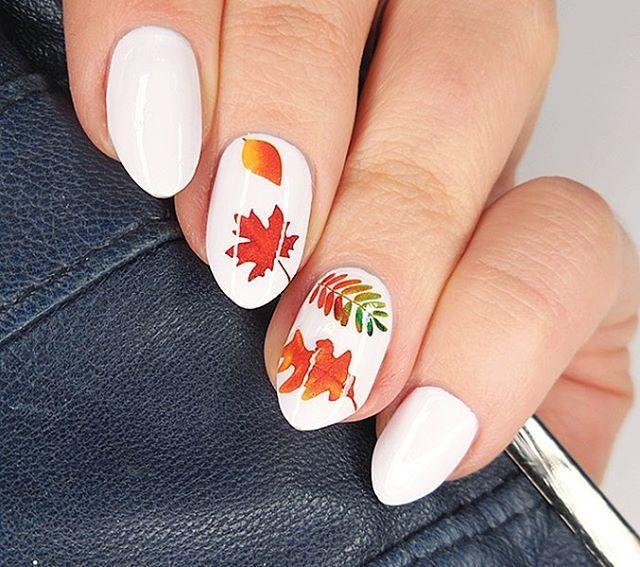 Jesienne Naklejki Zapraszam Do Naszego Sklepu Na Allegro Link W Opisie Profilu Paznokcie Nails Autumn Autumnnails Fallna Manicure Nails Enamel Pins