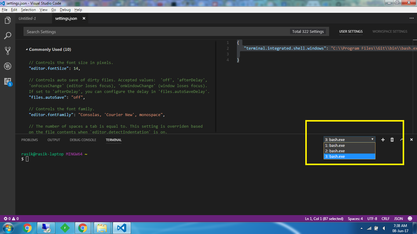 visual studio integrated terminal - Google Search | Python