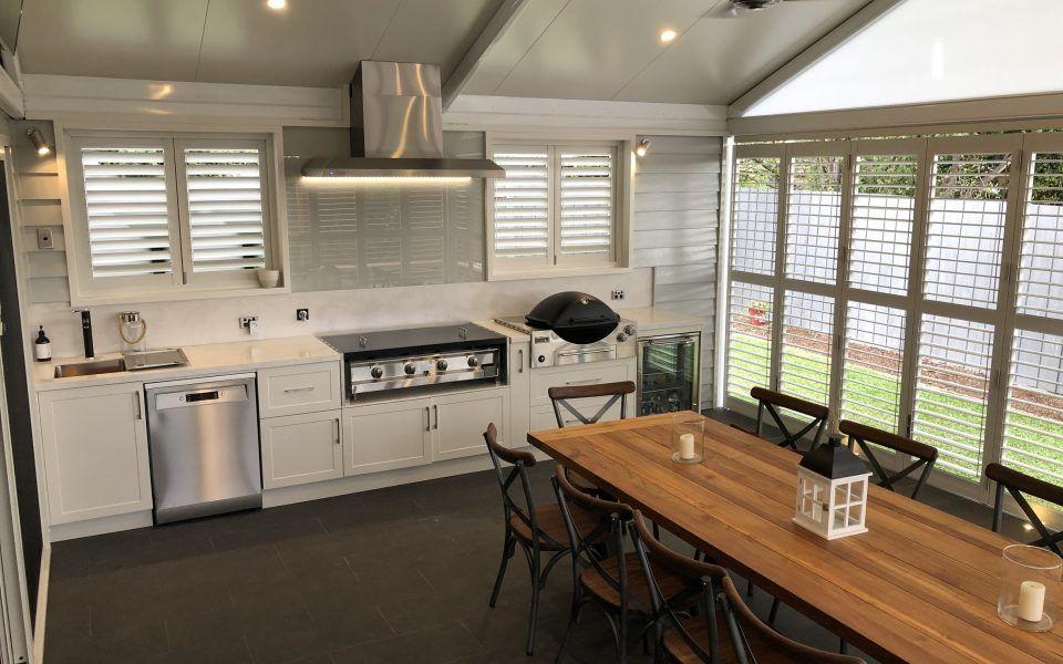 Aluminium Shutters Outdoor Area 2 Outdoor blinds