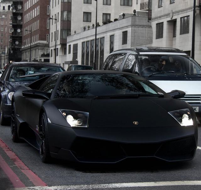 Matte Black Lamborghini Nero Nemesis Transportation Lamborghini