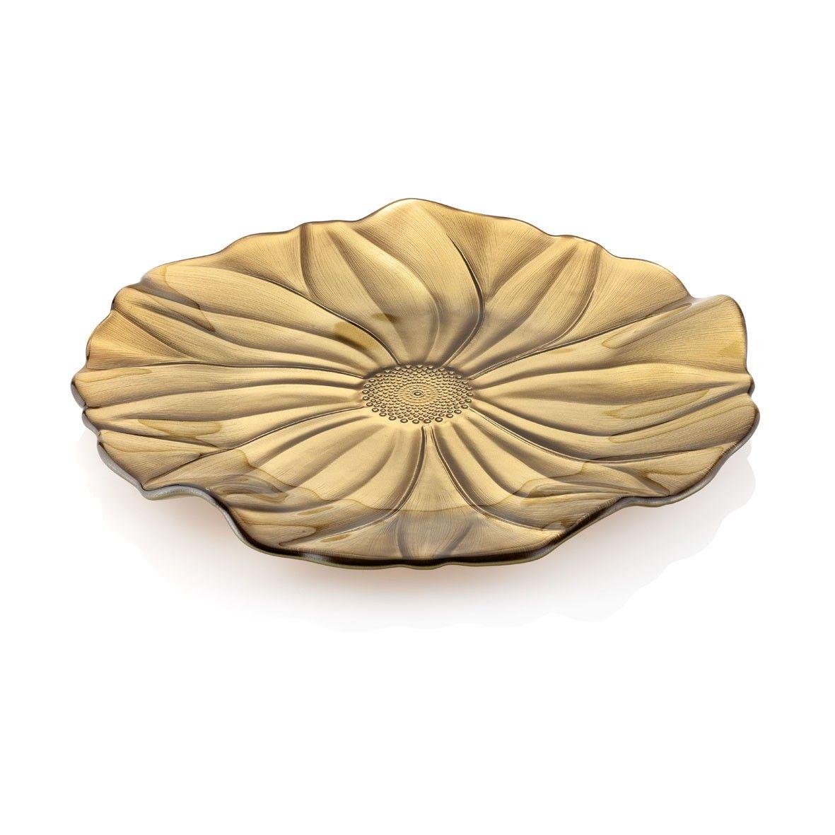 Piatto Caramello diam. 37cm Magnolia / Dish Caramel diam. 37cm Magnolia