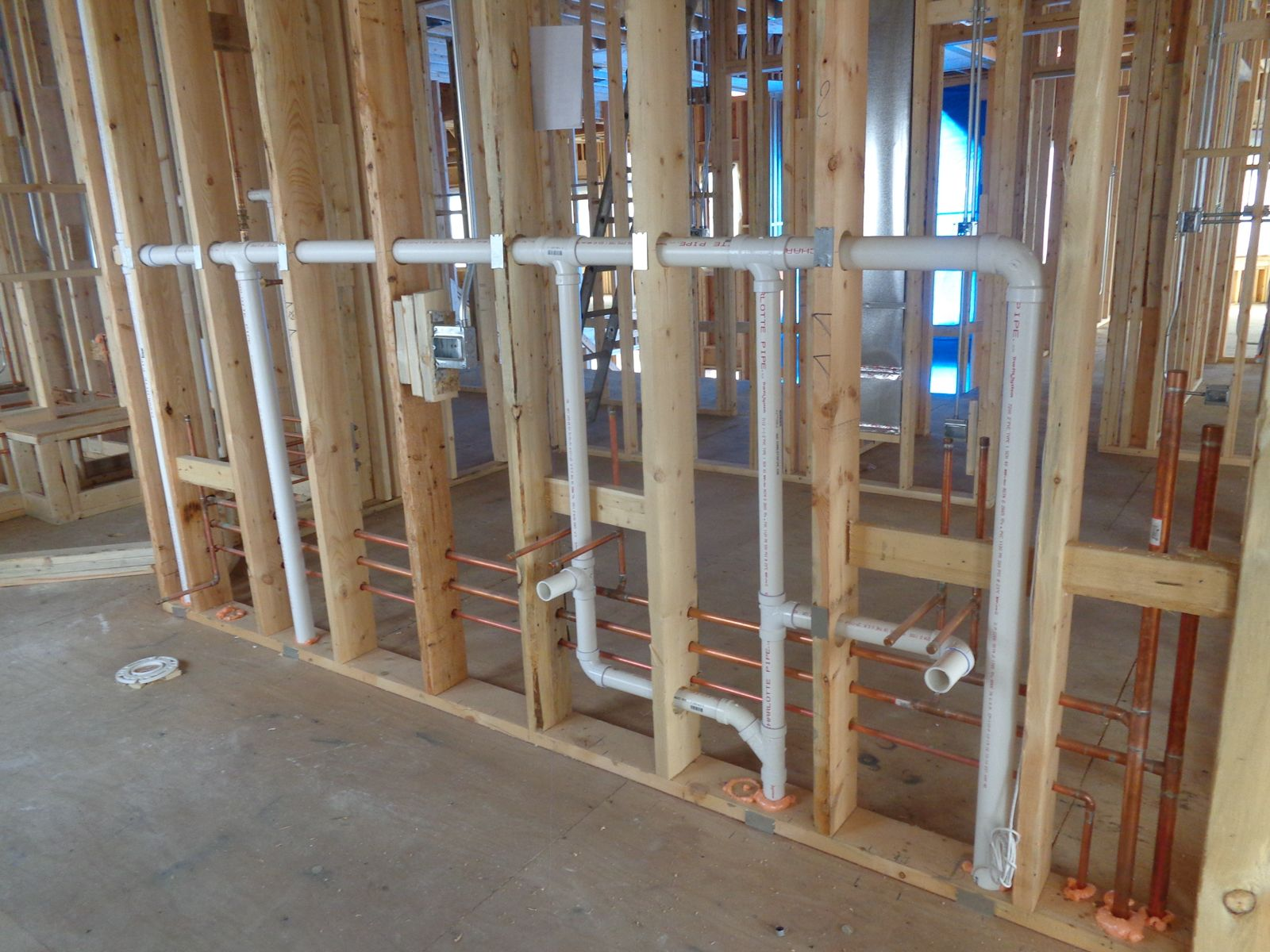 Systems Are Roughed In Your Plumbing Phone Tv Electrical Hvac And Other Systems Will Be Roughed In Meaning Plumbing Installation Plumbing Diy Plumbing