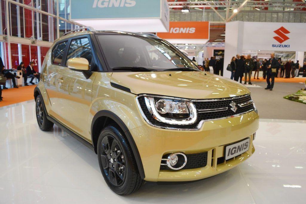 Suzuki Ignis Standard Variant Bologna Motor Show Live City Car