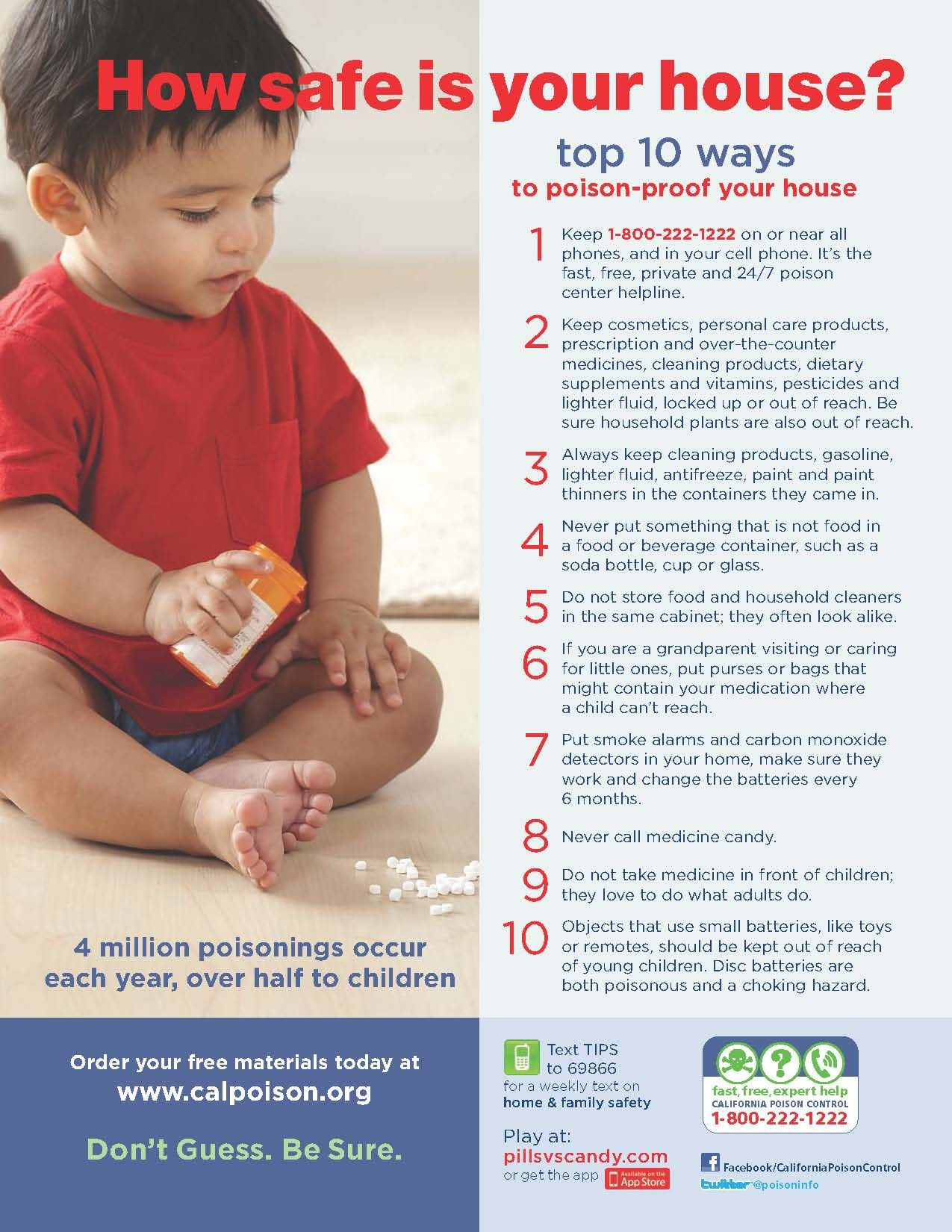 10 Tips For Home Family Safety Safety And First Aid Family And Consumer Science Home Safety