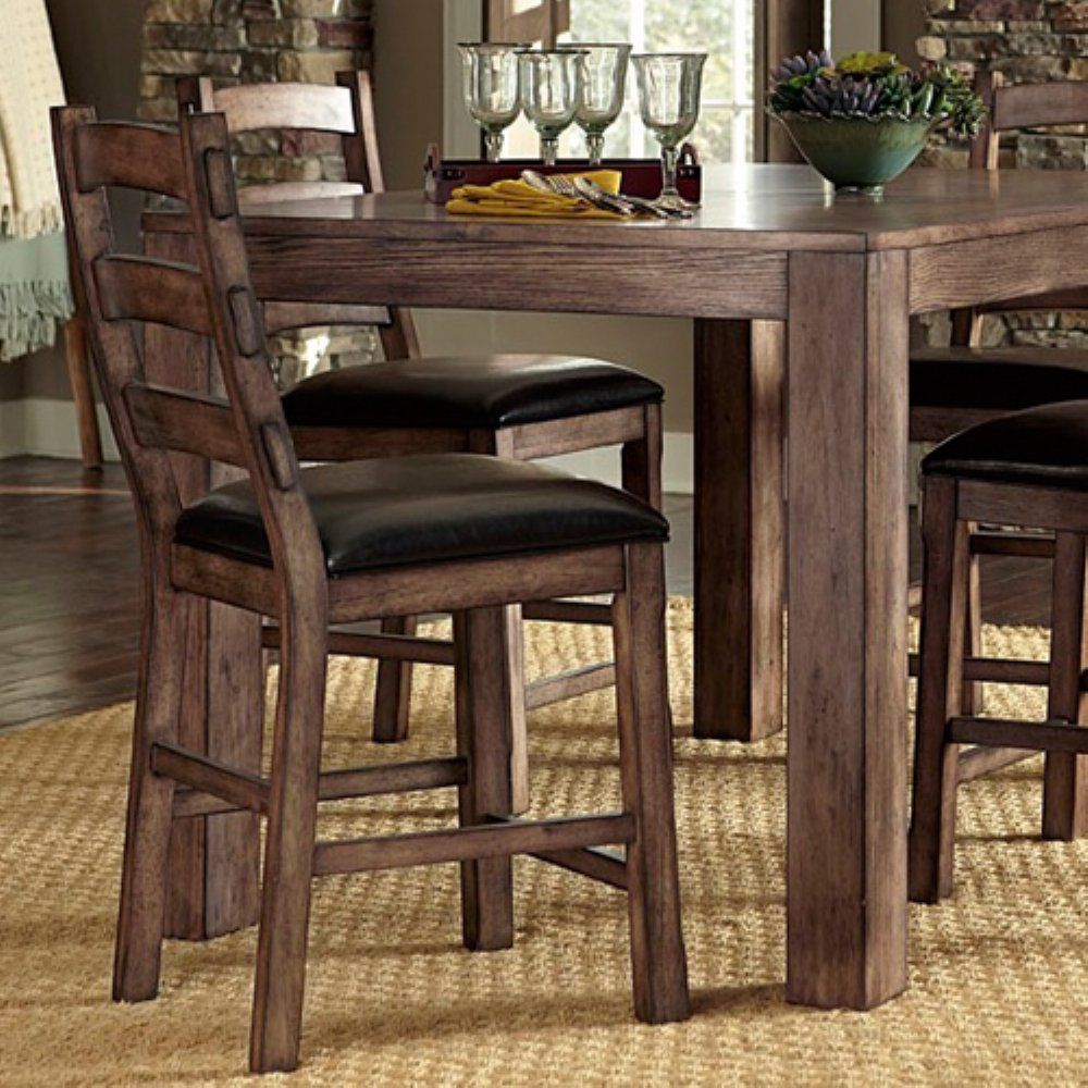 Progressive Furniture Boulder Creek Counter Height Dining Chair - Set of 2 - With its simple lines and warm Starbright pecan finish, the Progressive Furniture Boulder Creek Counter Height Dining Chair - Set of 2 is a great...$345/2