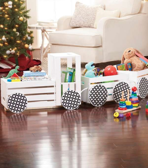 15 brillantes id es de rangement pour chambre d 39 enfant id es de rangement rangement et chambres. Black Bedroom Furniture Sets. Home Design Ideas