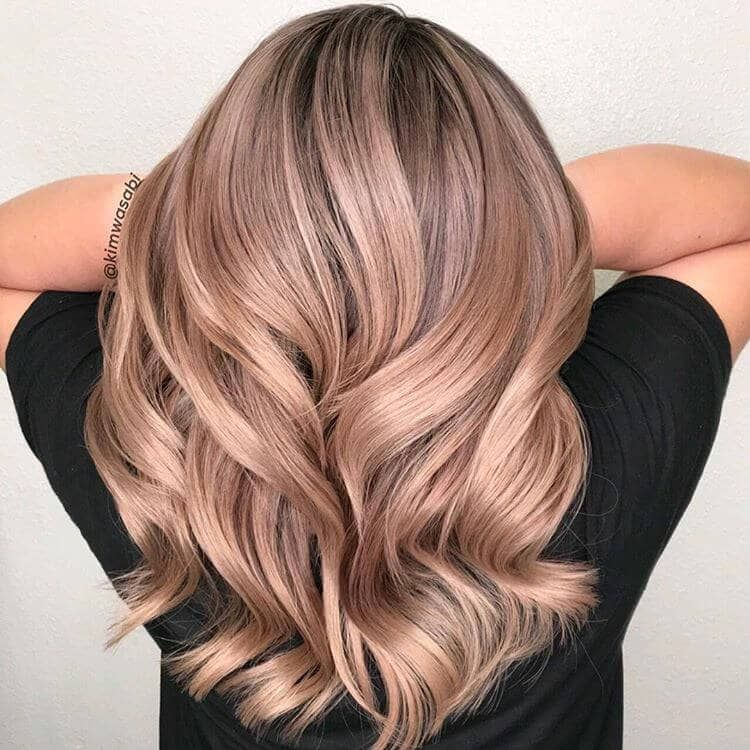 Photo of Rose Gold Hair
