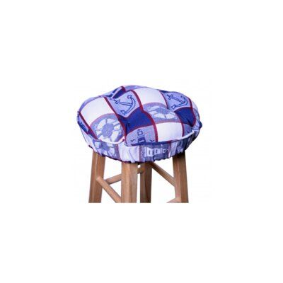 Breakwater Bay Indoor Barstool Cushion Custom Outdoor Cushions Blue Dining Room Chairs Dining Chair Cushions