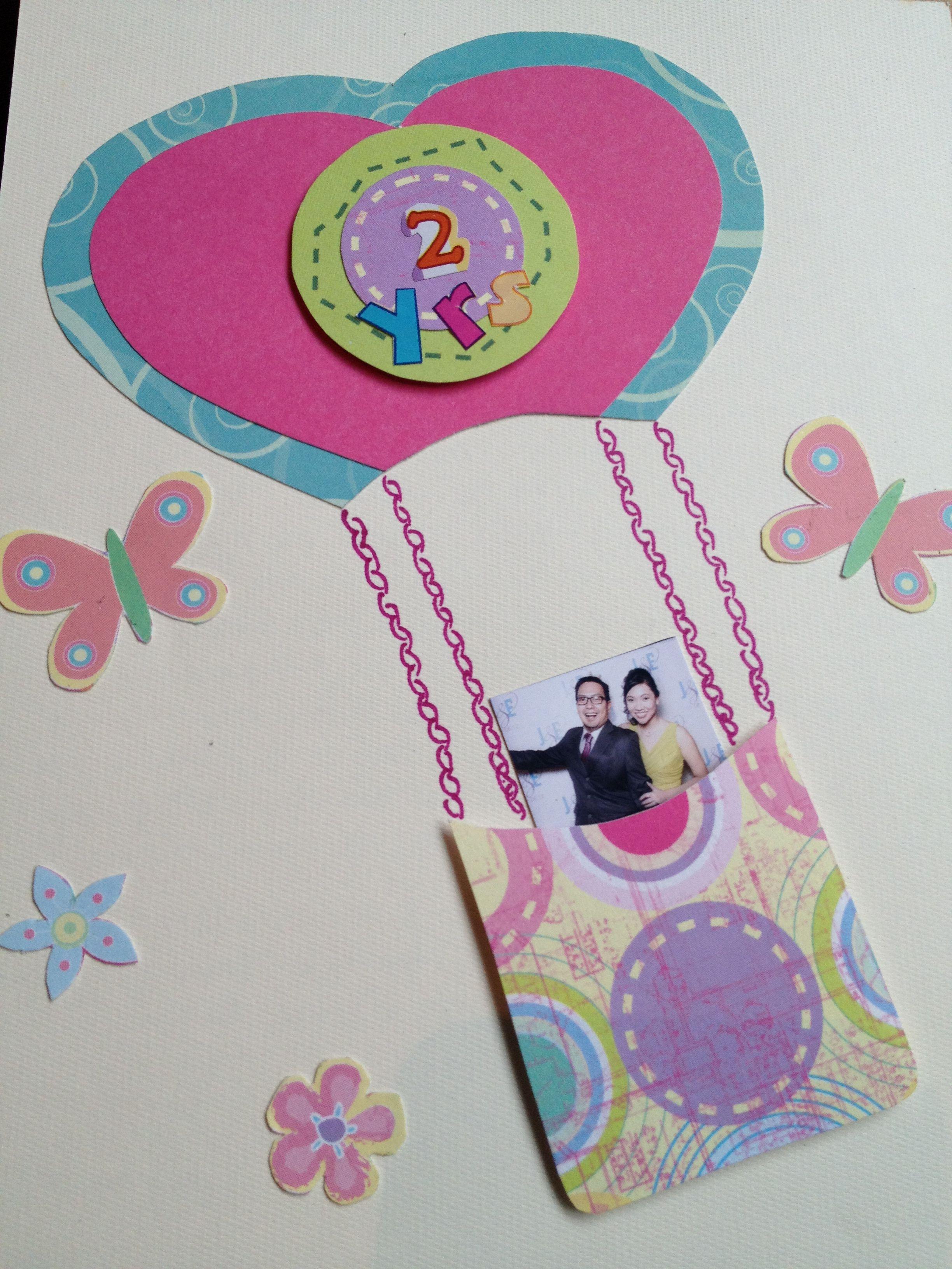 Diy Anniversary Card Anniversary Cards Handmade Diy Anniversary Cards Valentines Cards