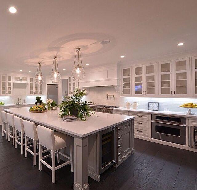 Wow Dream Kitchen Large Kitchen Design Luxury Kitchens