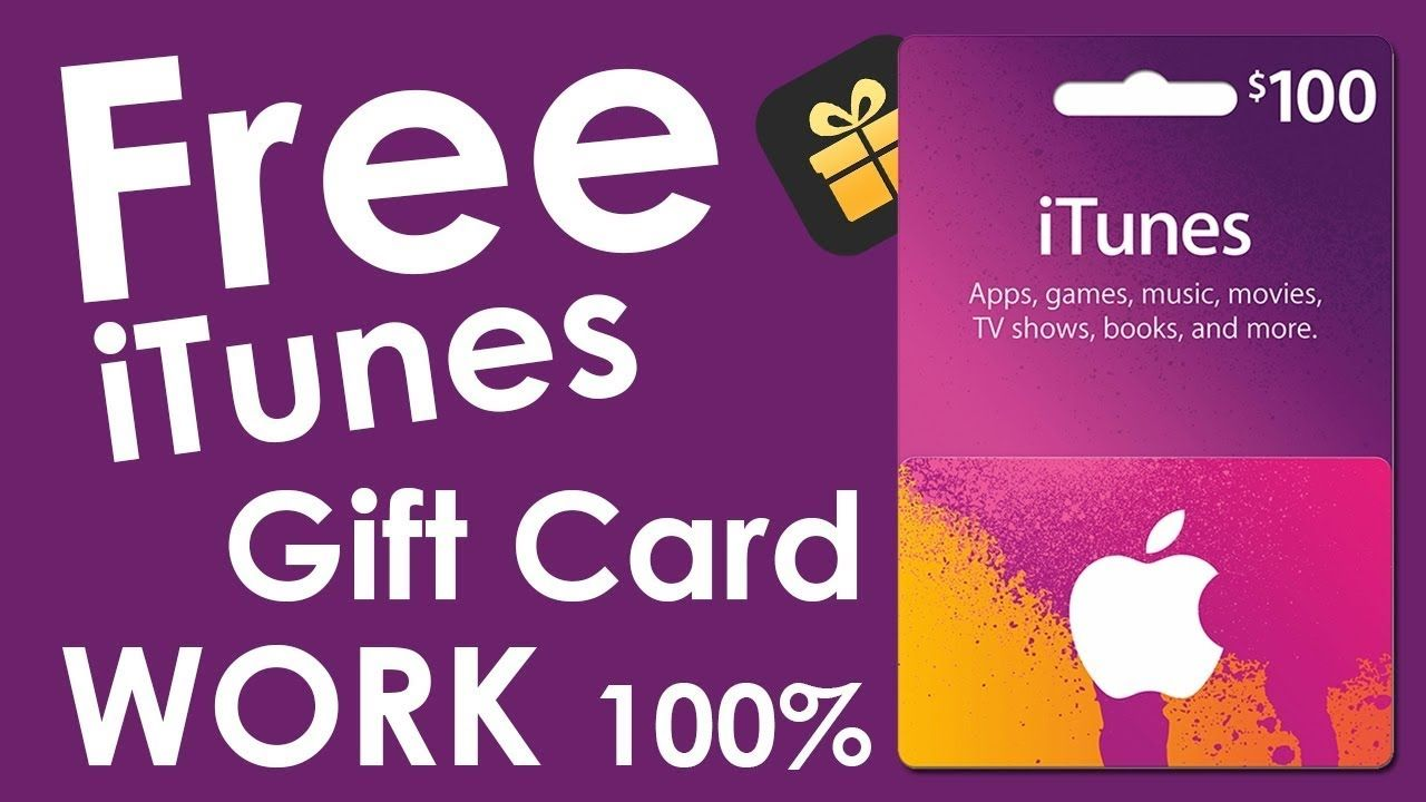 free itunes gift card giveaway 100 working in 2020