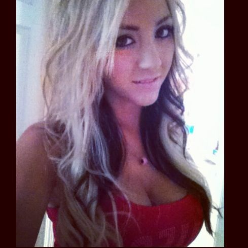 blonde hair with black underneath love the hair color