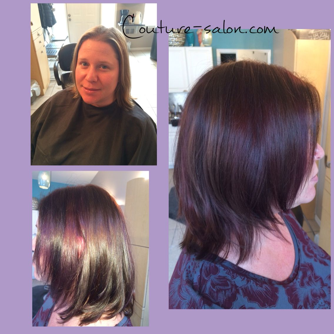 Couture Salon Com Color Transformation Using Wella Color Touch To Fill Koleston Perfect And Color Innosense For The Base A Wella Color Dimensional Color Color
