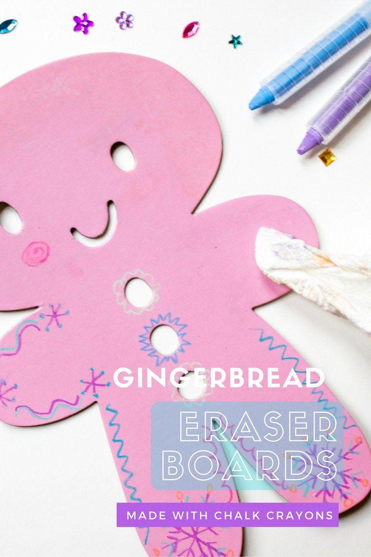 Gingerbread People Erasable Chalk Boards | Gingerbread
