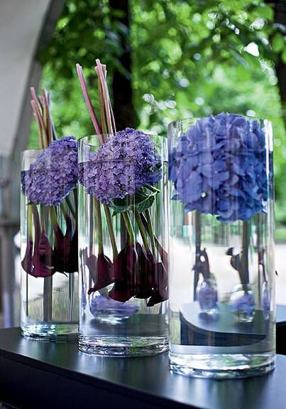 25 Hydrangea Flower Arrangements For Interior Decorating And Home Staging Flower Arrangements Center Pieces Hydrangea Flower Arrangements Large Flower Arrangements
