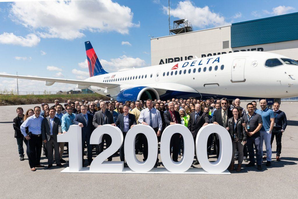Airbus delivered its 12,000th Aircraft… Denz Aviator