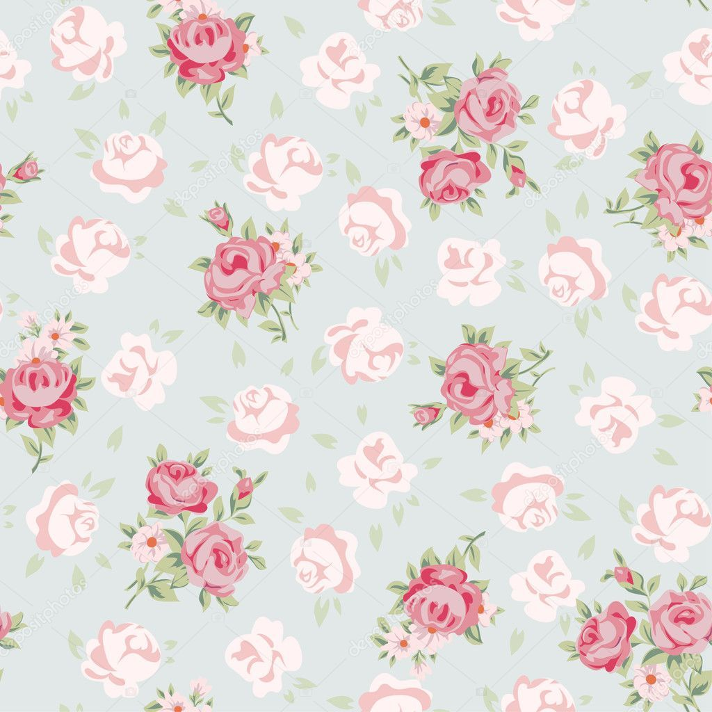 Download Royalty Free Floral Seamless Vintage Pattern Shabby Chic Rose Background For You Scrapboo Shabby Chic Background Shabby Chic Wallpaper Chic Wallpaper