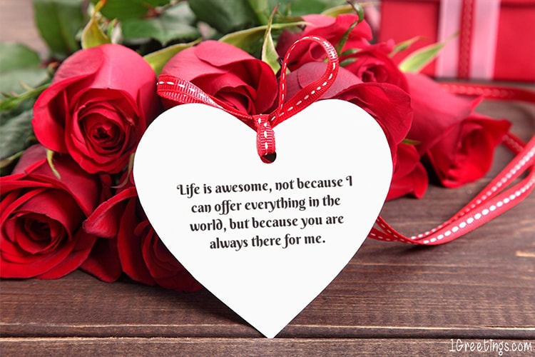 Beautiful Rose Love Greeting Wishes Card Online Free Valentine S Day Greeting Cards Greeting Card Image Beautiful Roses