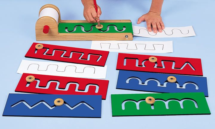 Lakeshore Classroom Design Tool ~ Pre writing motor skills boards kit from lakeshore
