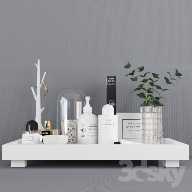 Beau Decorative Set / Decor Tray Set (Corona + Vray)