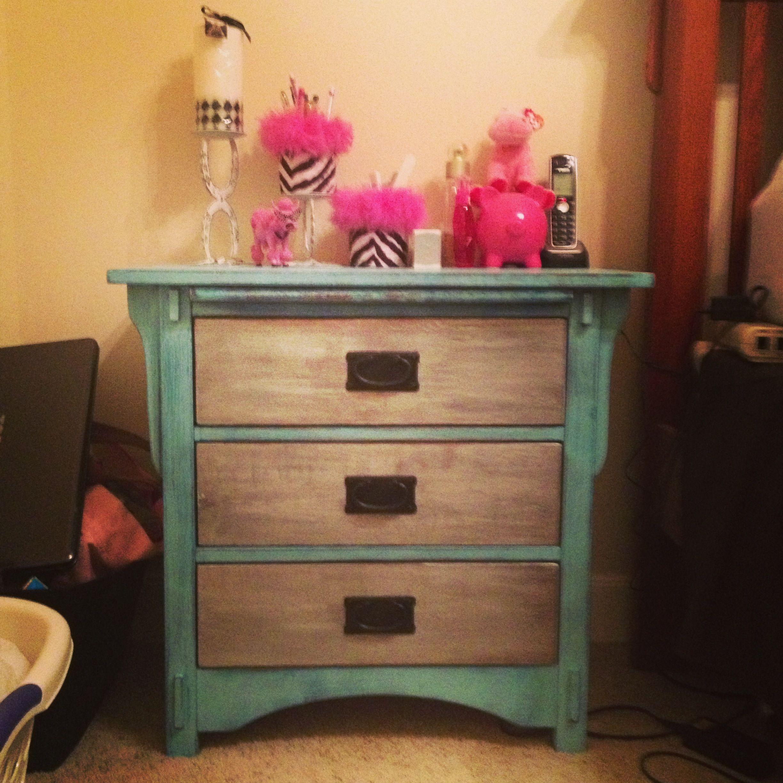 Bedside table I refurbished!! Diy bedroom decor, Diy