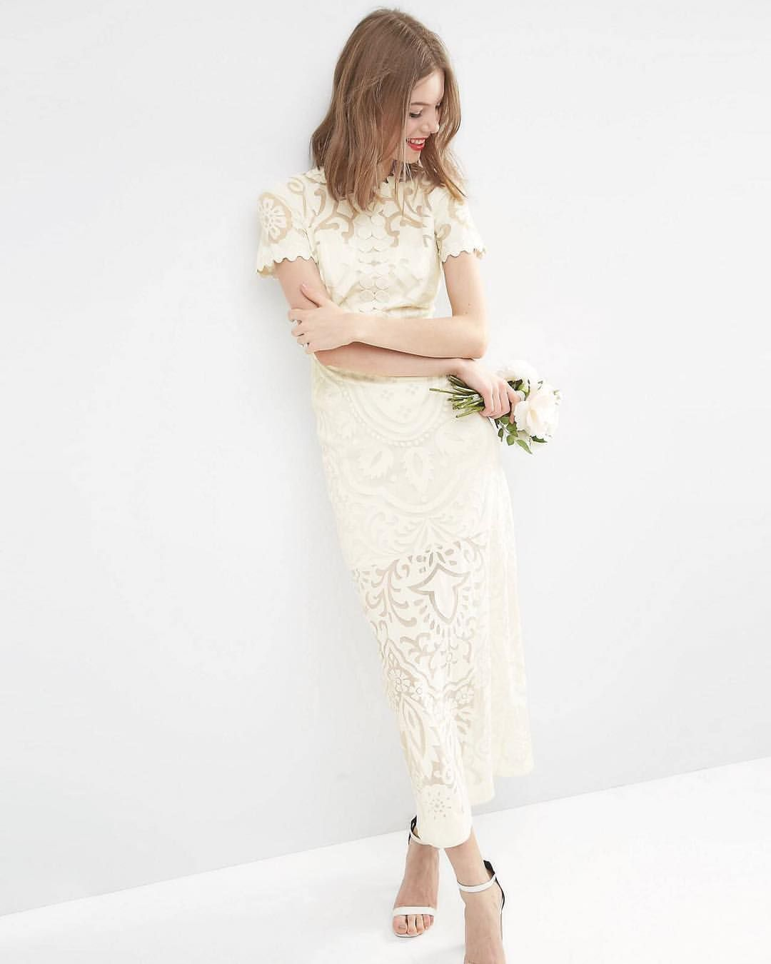 The perfect ASOS wedding dress for a stylish city wedding The