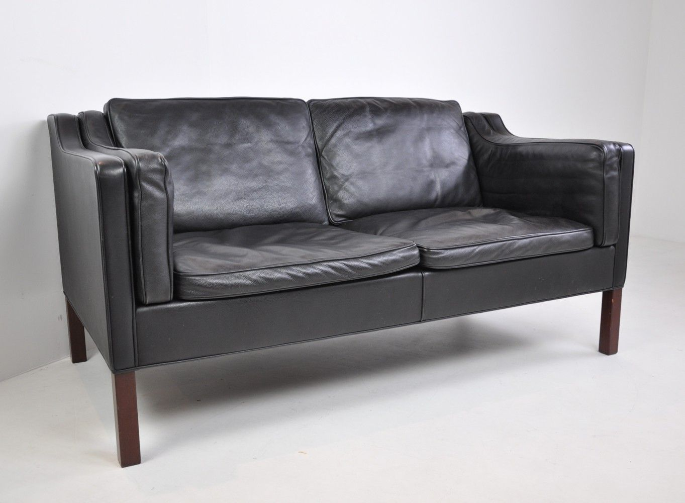 Swell For Sale Two Seater Sofa By Borge Mogensen For Fredericia Creativecarmelina Interior Chair Design Creativecarmelinacom