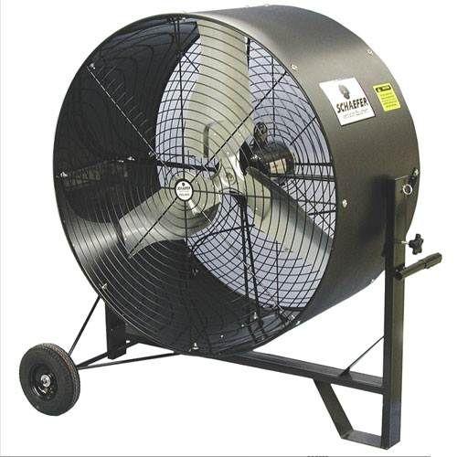 Schaefer 36 Inch Axial Tilt Fan Industrial Fan Floor Fan Air Fan