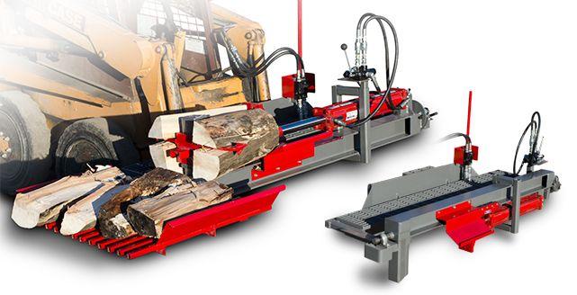 Log Splitter Tw 3ssr Skid Steer Log Splitter