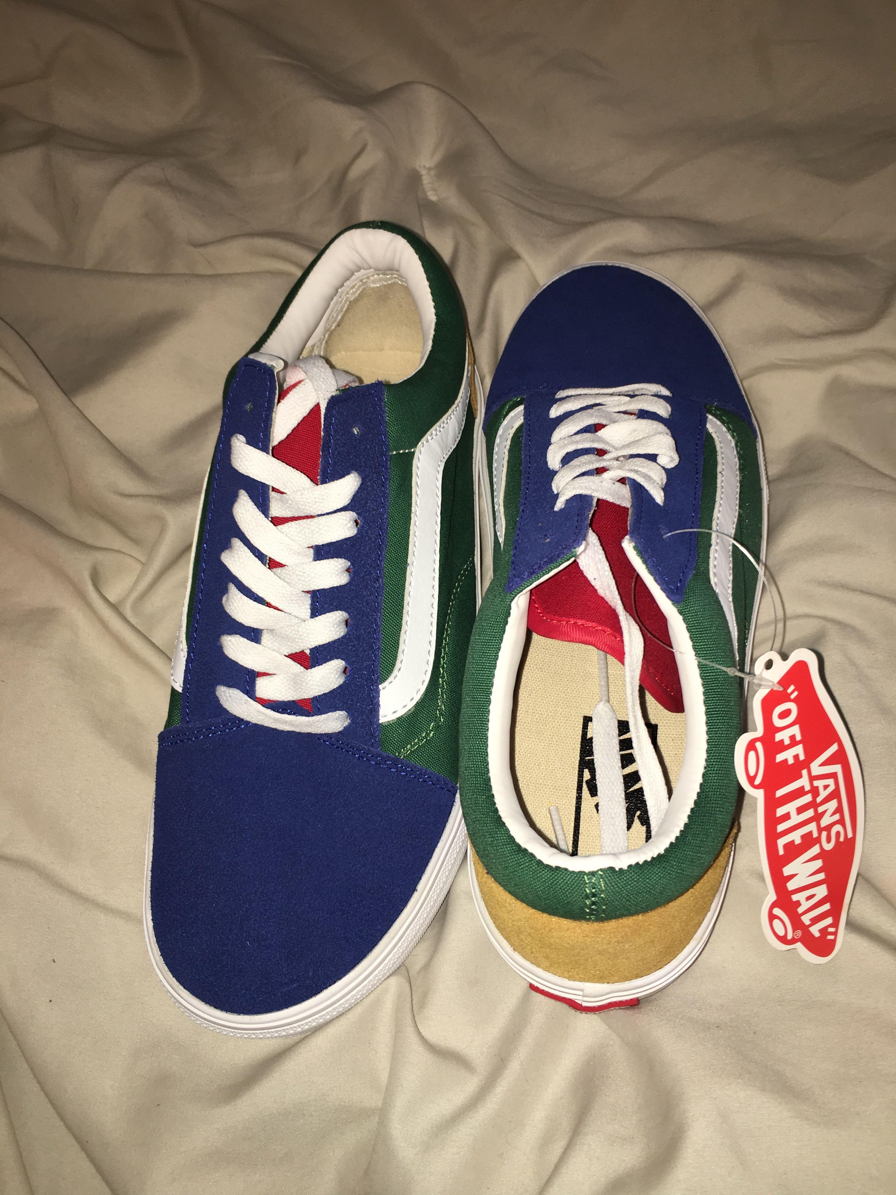 Vans Old Skool Yacht Club | Vans, Stylish shoes, Skate shoes
