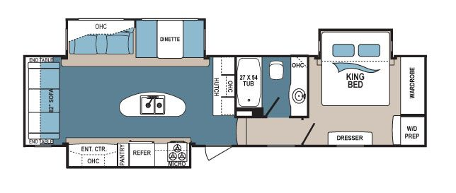 Denali 335rlk Floorplans Detail Floor Plans Dutchmen Rv Rv Living Full Time