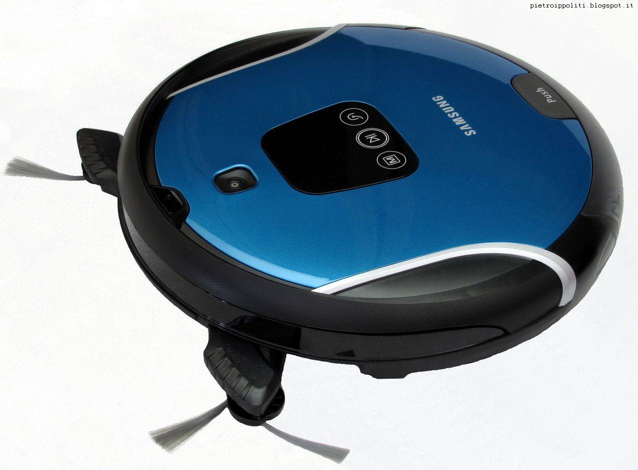 Robot Aspirapolvere Samsung #Navibot S Pop Out VR10F71UCBC, Difetti