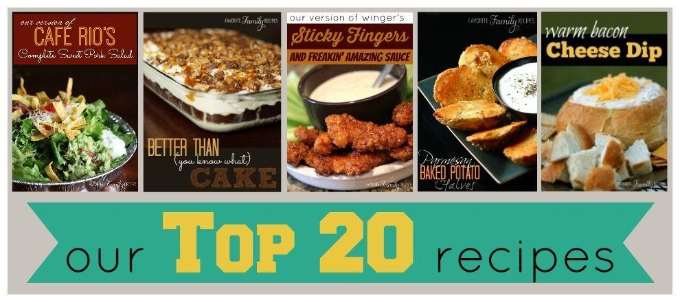 Version of Cafe Rio's Cilantro Ranch Dressing - favfamilyrecipesFavorite Family Recipes