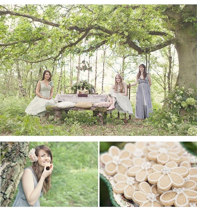 Woodland Fairy Themed Wedding From Sweet Violet Bride