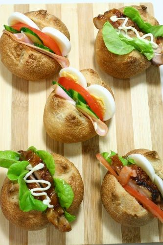 homemade sandwiches