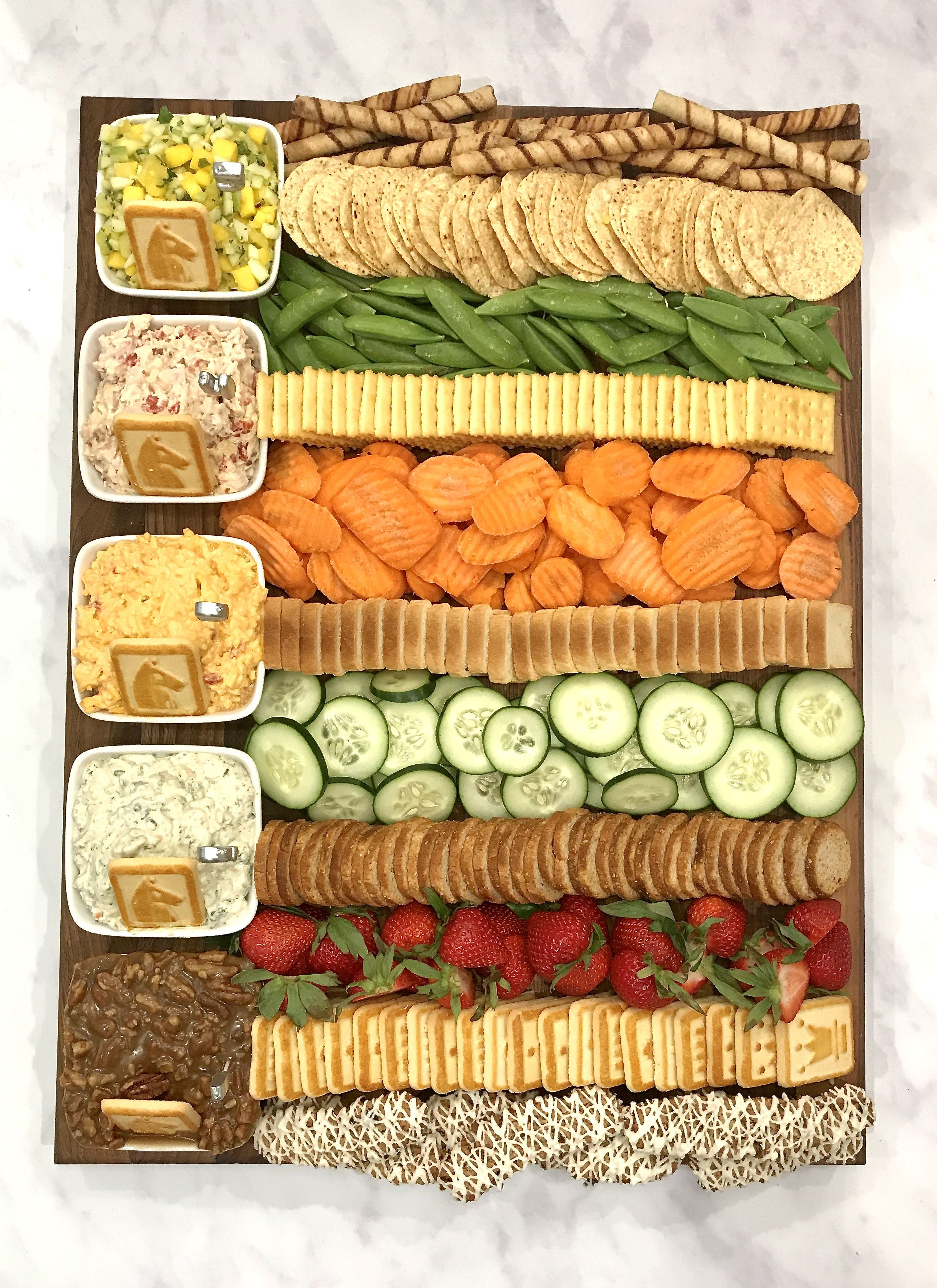 Kentucky Derby Dip Board The BakerMama Food for a