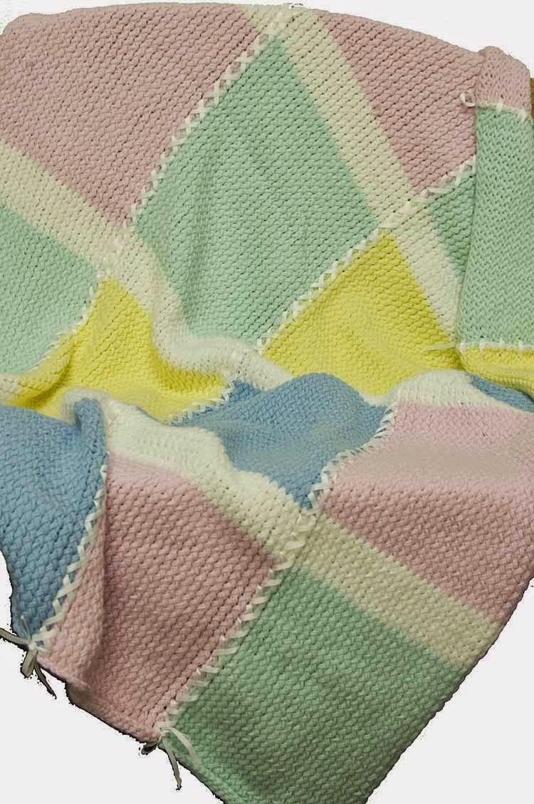 Knifty Knitter Baby Squares Blanket   Crafts/DIY   Pinterest ...