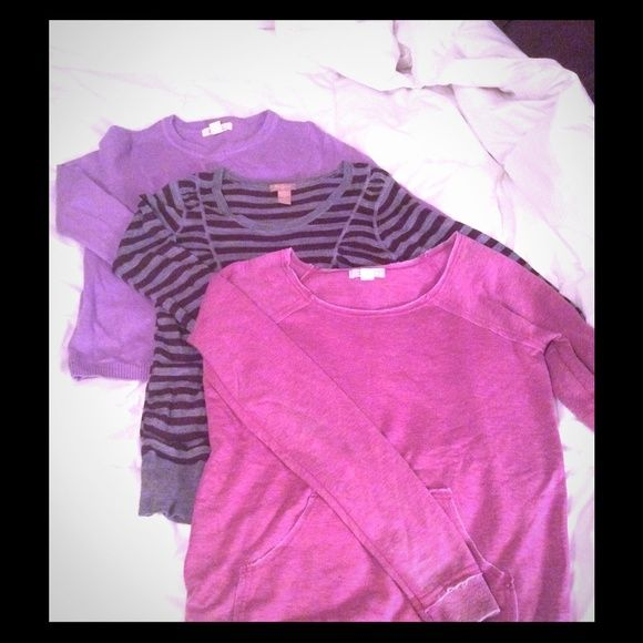 Sweater Bundle 3 Sweaters (Forever 21) Forever 21 Sweaters Crew & Scoop Necks